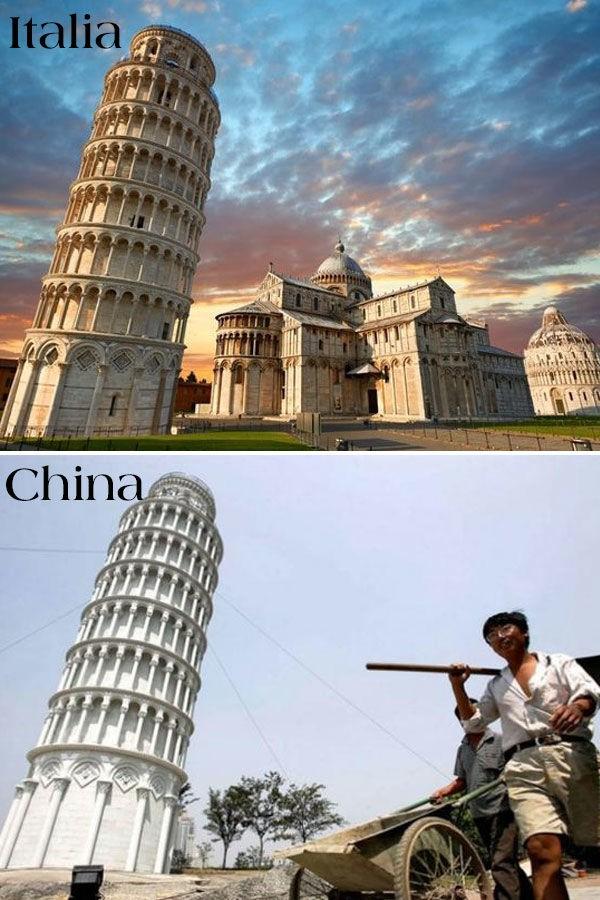 17 công trình nổi tiếng thế giới bị Trung Quốc đạo nhái không thương tiếc: Tháp Eiffel, Nhà Trắng cũng không thoát - Ảnh 6.