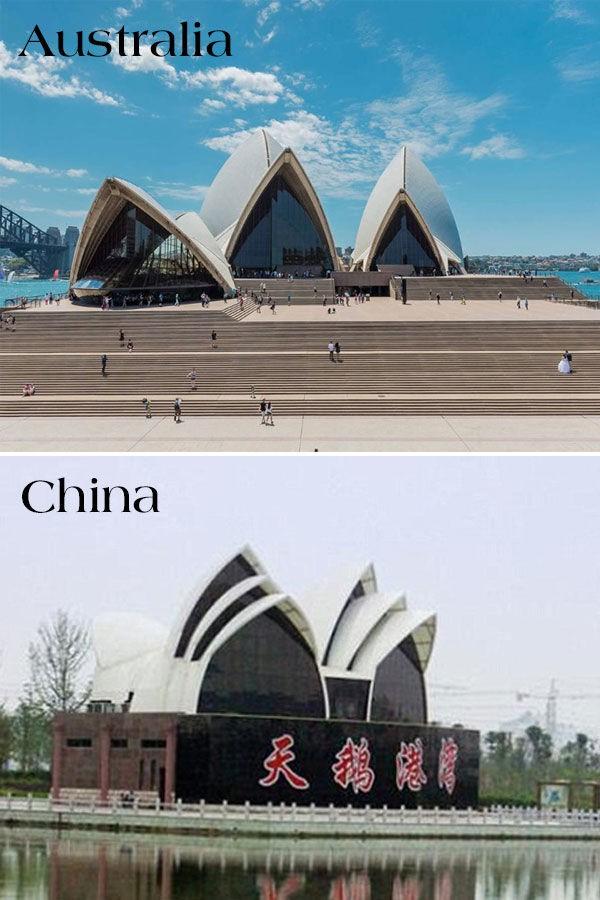 17 công trình nổi tiếng thế giới bị Trung Quốc đạo nhái không thương tiếc: Tháp Eiffel, Nhà Trắng cũng không thoát - Ảnh 7.