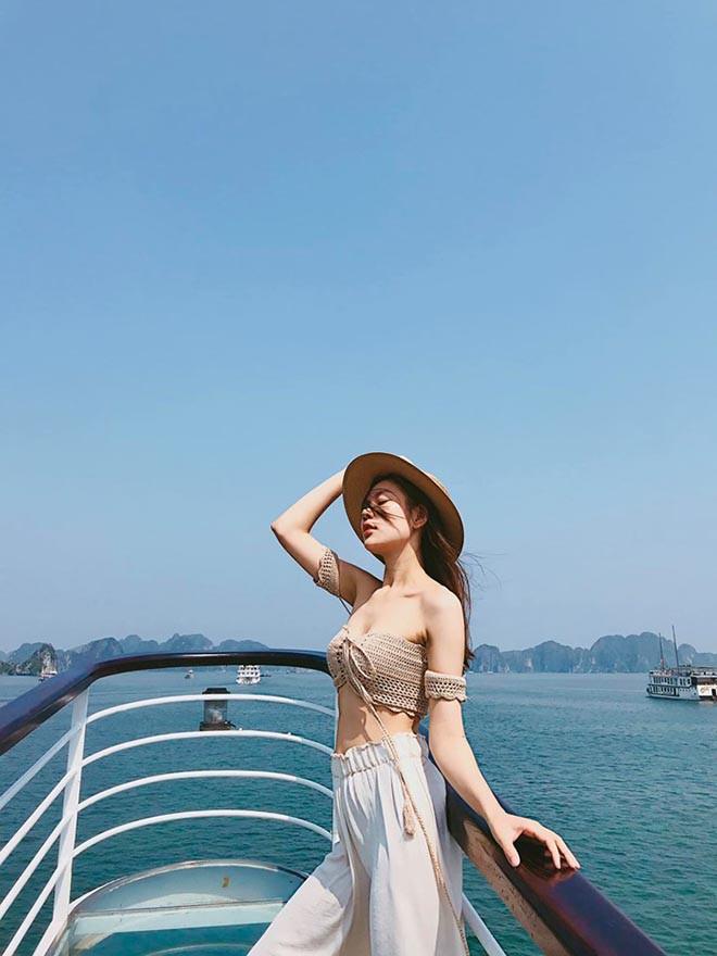 Người mẫu Việt từng bị chê bai cân nặng gây bất ngờ sau khi lấy chồng, sinh con - Ảnh 10.
