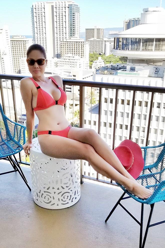 Nữ ca sĩ Việt từng có 3 đời chồng tung loạt ảnh bikini gợi cảm ở tuổi 46 - Ảnh 4.