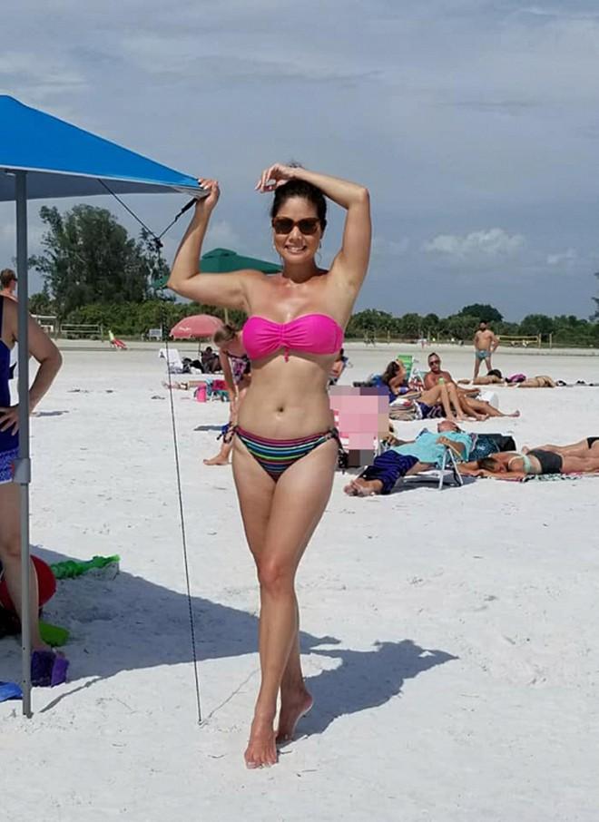 Nữ ca sĩ Việt từng có 3 đời chồng tung loạt ảnh bikini gợi cảm ở tuổi 46 - Ảnh 5.