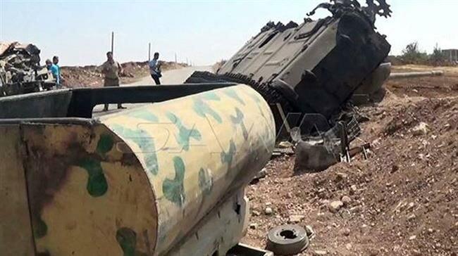 QĐ Syria chiến thắng như chẻ tre, giải phóng Khan Shaykhun, thắt chặt vòng vây Hama - Khủng bố tháo chạy - Ảnh 2.
