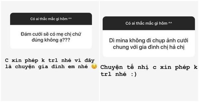 Đây là phản ứng bất ngờ của ái nữ nhà Minh Nhựa khi được hỏi về vợ kế của ba - Mina Phạm - Ảnh 2.