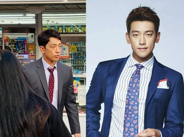 Kim Tae Hee bầu bí tháng cuối thai kỳ, Bi Rain vẫn vất vả quay phim đến xanh xao, cố kiếm thêm tiền bỉm sữa? - Ảnh 4.