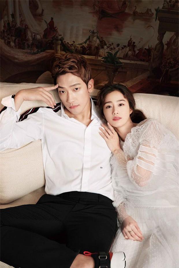 Kim Tae Hee bầu bí tháng cuối thai kỳ, Bi Rain vẫn vất vả quay phim đến xanh xao, cố kiếm thêm tiền bỉm sữa? - Ảnh 5.