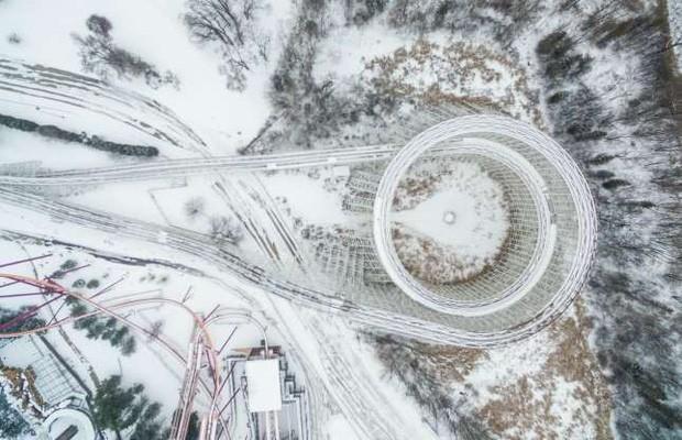 Những bức ảnh ấn tượng về thời tiết trên thế giới nhìn từ trên cao - Ảnh 10.