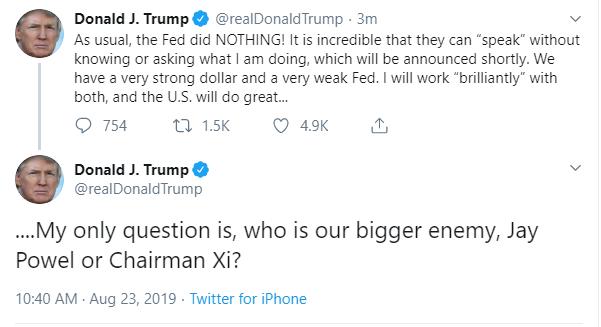 CNBC: 75 tỉ USD hàng hóa bị TQ cho lên thớt, ông Trump liền giáng cấp ông Tập từ bạn thành thù - Điềm rất xấu? - Ảnh 1.
