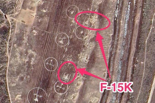 Triều Tiên bị tố dựng mô hình tiêm kích F-15 của Hàn để tập ném bom - Ảnh 1.
