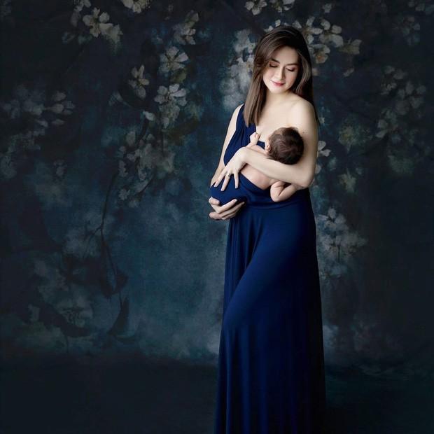 Mỹ nhân đẹp nhất Philippines Marian Rivera quyến rũ và khí chất tựa nữ thần trong bức hình bồng quý tử - Ảnh 1.