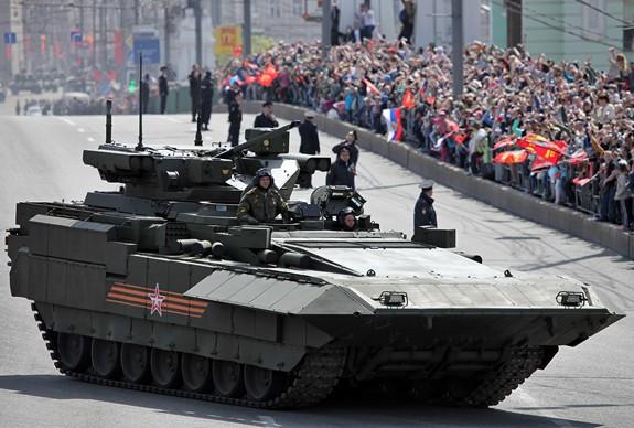 Nga xây dựng xe tăng không người lái dựa trên nền tảng Armata - ảnh 1