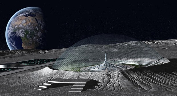 Cơ quan Vũ trụ châu Âu ESA vừa đưa ra ý tưởng rất táo bạo để con người sống được trên cung Trăng: Nghe vô lý mà lại hợp lý không tưởng - Ảnh 2.