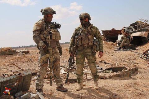 Lính đánh thuê người Nga tử trận tại chiến trường Khan Khanoun, Syria - ảnh 11