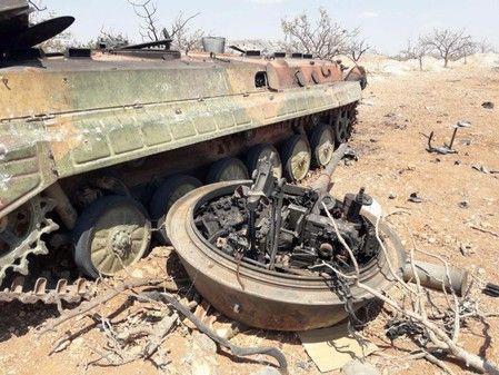 Chùm ảnh quân Assad đánh cho kẻ thù thua tan tác ở chiến trường khốc liệt Syria - Ảnh 5.