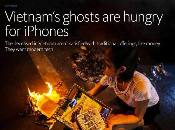 Báo Tây sửng sốt vì đồ xa xỉ dành cho các vong hồn ở Việt Nam - Ảnh 1.