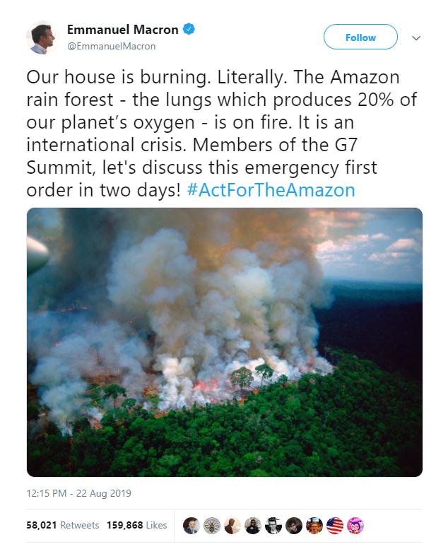 Hàng loạt sao cầu nguyện cho rừng Amazon, nhưng lại share nhầm ảnh đám cháy ở chỗ khác, kể cả Ronaldo, Djokovic hay Madonna - Ảnh 8.