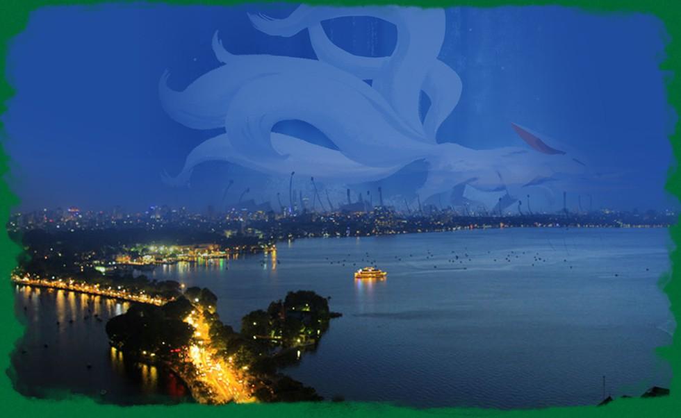 Ngược Tô Lịch lên long mạch Tây Hồ: Vì sao là địa linh nghìn năm, xứ sở sen ít nơi nào sánh được? - Ảnh 4.