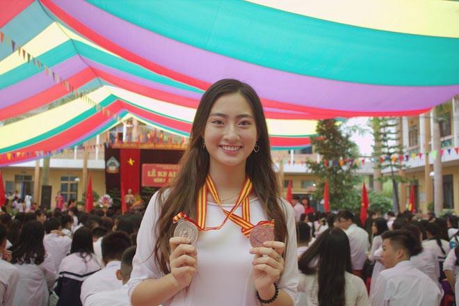 Lộ ảnh mặt mộc của tân Hoa hậu thế giới Việt Nam 2019 - Ảnh 2.