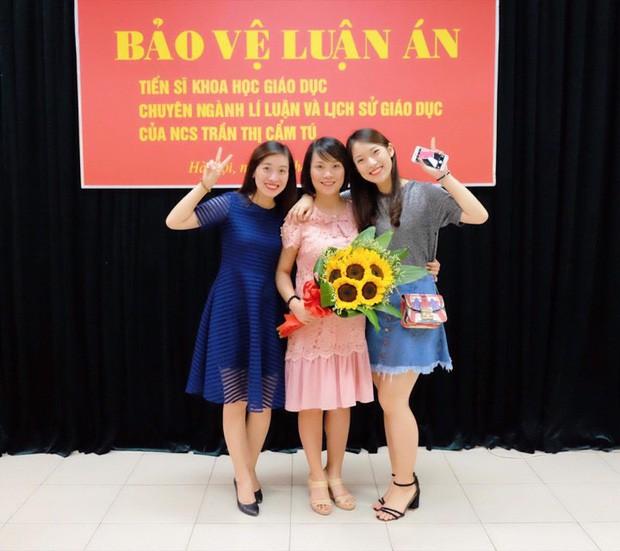 Nhà có 3 nàng tiên phiên bản hot girl Việt: Xinh đẹp đã là gì, thi hoa hậu rồi học vấn thạc sĩ, tiến sĩ có đủ luôn - Ảnh 6.