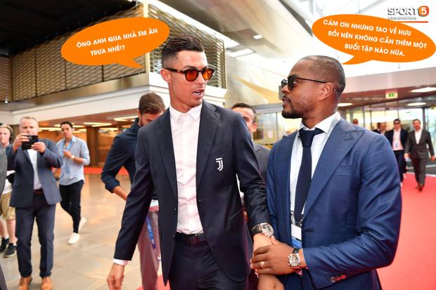 Ronaldo gợi lại bữa ăn trưa đầy kinh hoàng với cựu đồng đội MU - Ảnh 1.