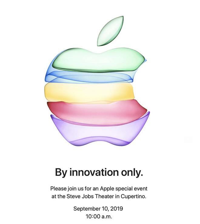 Thư mời sự kiện iPhone 11 của Apple ẩn chứa điều gì? - Ảnh 1.