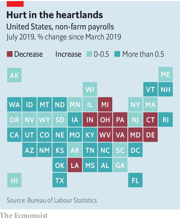 Economist: Kinh tế Mỹ đang suy thoái từng phần? - Ảnh 3.