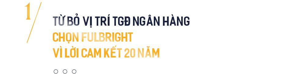 Củ khoai lang trên bàn Chủ tịch Đàm Bích Thuỷ và 7 nhà tài trợ giấu tên phía sau ĐH Fulbright Việt Nam - Ảnh 1.