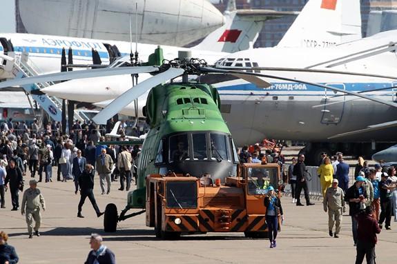 Nhiều công nghệ hàng không quân sự hiện đại được giới thiệu tại MAKS-2019 - Ảnh 1.