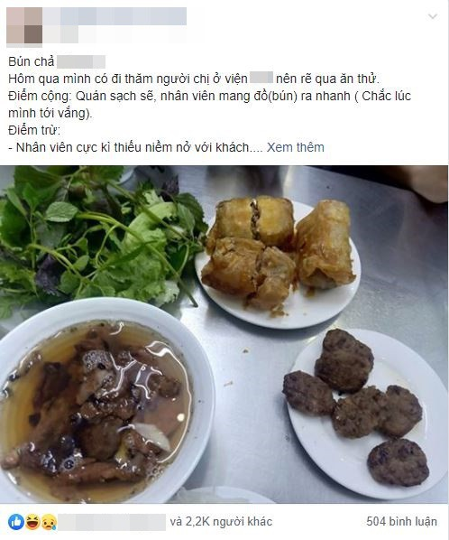 VZN News: Đi ăn bún chả nổi tiếng bậc nhất Hà thành, khách hàng khẳng định không bao giờ quay lại vì hàng loạt điểm trừ - Ảnh 1.
