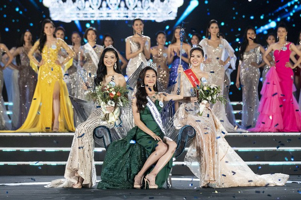 Cư dân mạng kinh ngạc trước sự giống nhau của tân Hoa hậu Thế giới Việt Nam và Đỗ Mỹ Linh - Ảnh 1.