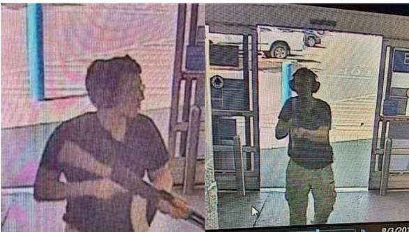 Xả súng tại Texas, Mỹ: Người dân hoảng loạn, trốn trong container thép để thoát thân - Ảnh 1.