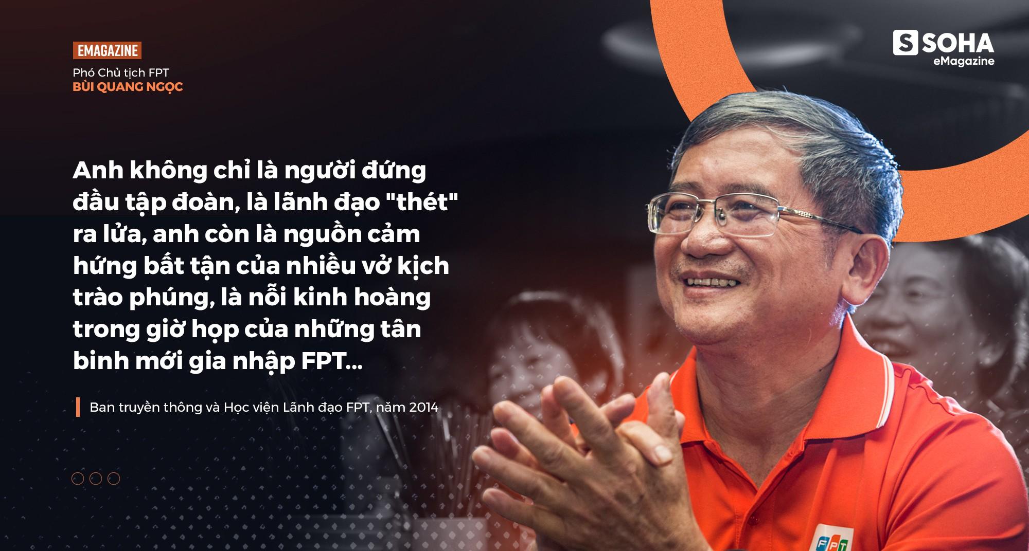 Phó chủ tịch FPT Bùi Quang Ngọc: Tôi chưa thấy người đàn ông nào mà tôi quen biết lại không sợ vợ - Ảnh 12.