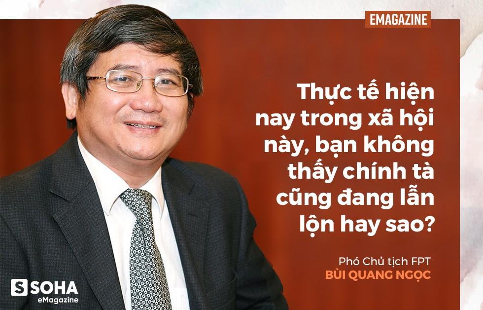 Phó chủ tịch FPT Bùi Quang Ngọc: Tôi chưa thấy người đàn ông nào mà tôi quen biết lại không sợ vợ - Ảnh 3.