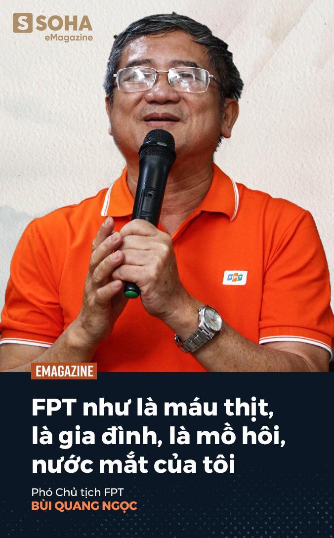 Phó chủ tịch FPT Bùi Quang Ngọc: Tôi chưa thấy người đàn ông nào mà tôi quen biết lại không sợ vợ - Ảnh 9.