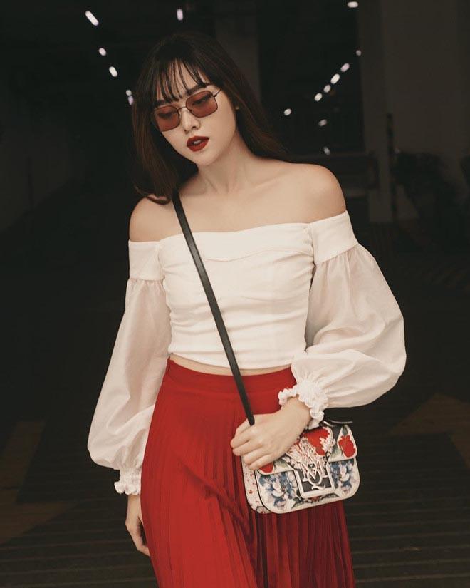 Cận cảnh vẻ xinh đẹp, gợi cảm của Á hậu 2 Hoa hậu Thế giới Việt Nam Nguyễn Tường San - Ảnh 13.