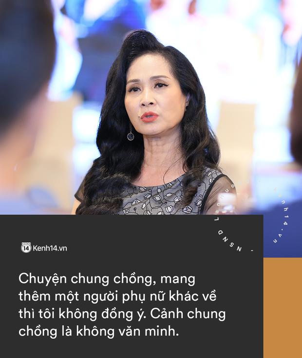 NSND Lan Hương thẳng thắn chuyện tiểu tam và bà lớn: Cảnh chung chồng là không văn minh, đừng lấy hoàn cảnh để biện hộ! - Ảnh 2.