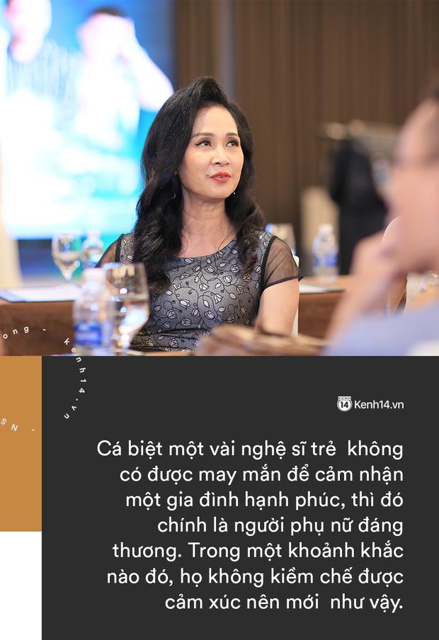 NSND Lan Hương thẳng thắn chuyện tiểu tam và bà lớn: Cảnh chung chồng là không văn minh, đừng lấy hoàn cảnh để biện hộ! - Ảnh 3.