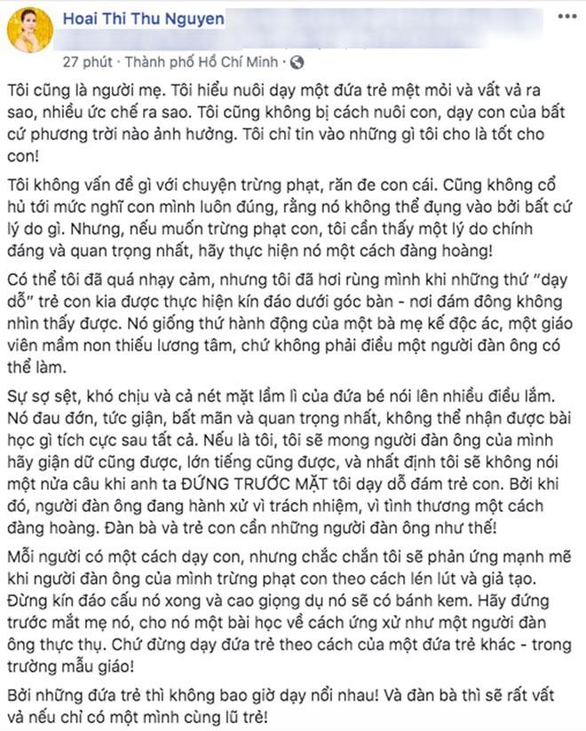 Nhiều sao Việt bức xúc về nghi vấn chồng mới cấu tay con riêng của Thu Thủy - Ảnh 6.