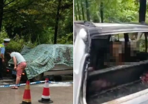 Để cháu trai lại trong xe ô tô rồi khóa cửa, ông nội đau đớn chứng kiến hai đứa trẻ chết cháy mà không thể cứu được - Ảnh 1.