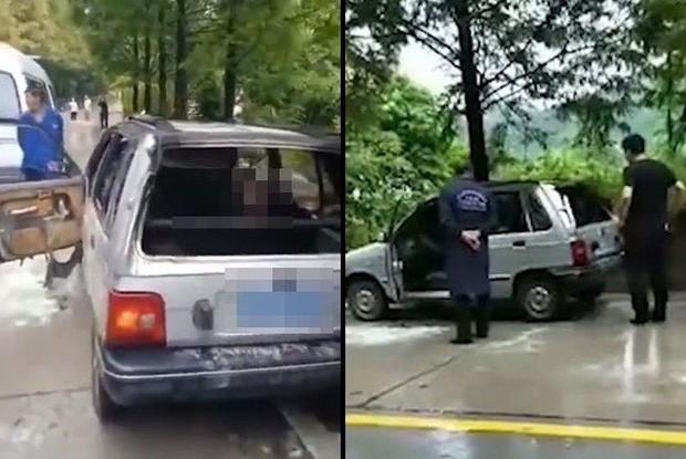 Để cháu trai lại trong xe ô tô rồi khóa cửa, ông nội đau đớn chứng kiến hai đứa trẻ chết cháy mà không thể cứu được - Ảnh 2.
