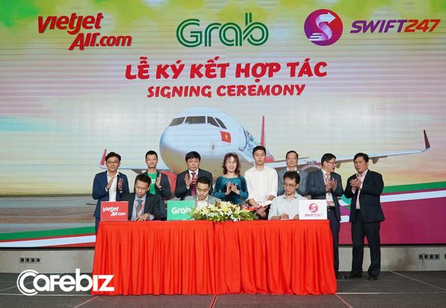Deal khủng của năm: Vietjet bất ngờ bắt tay Grab, CEO Nguyễn Thị Phương Thảo tuyên bố đây sẽ là bước đi mới nhất trên con đường trở thành một Consumer Airline - Ảnh 1.