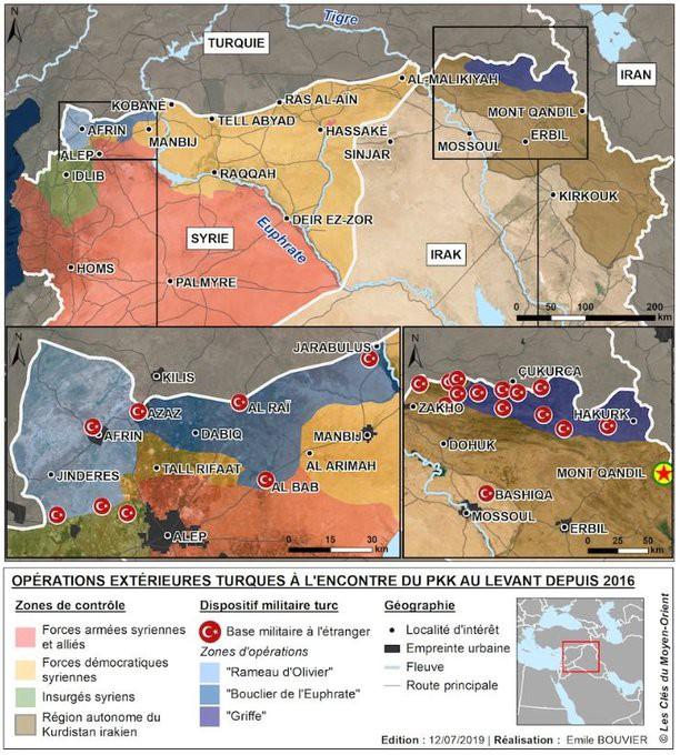 Chiến dịch móng vuốt: Quân đội Thổ tung hoành ở miền Bắc Iraq mà không cần xin phép? - Ảnh 1.