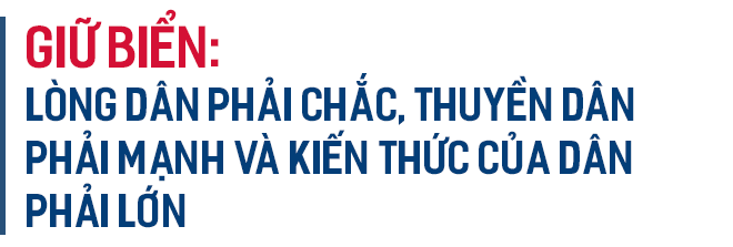 Phó Tư lệnh Cảnh sát biển Việt Nam: Chúng tôi đang thực hiện lời thề giữ biển - Ảnh 3.