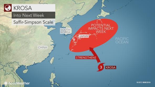 Song bão Thái Bình Dương 'nuốt chửng' áp thấp nhiệt đới trên Biển Đông: Nguy cơ sáp nhập thành siêu bão cực mạnh? - ảnh 3