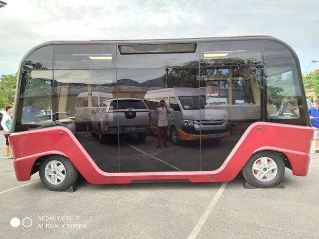 Xuất hiện hình ảnh được cho là chiếc xe buýt của VinFast với thiết kế đến từ tương lai - Ảnh 2.