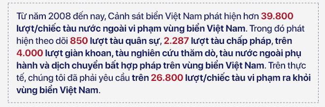Phó Tư lệnh Cảnh sát biển Việt Nam: Chúng tôi đang thực hiện lời thề giữ biển - Ảnh 1.