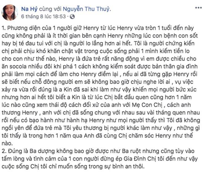 Người chăm sóc con Thu Thủy: Đừng ép gia đình chị tôi đến như vậy - Ảnh 3.