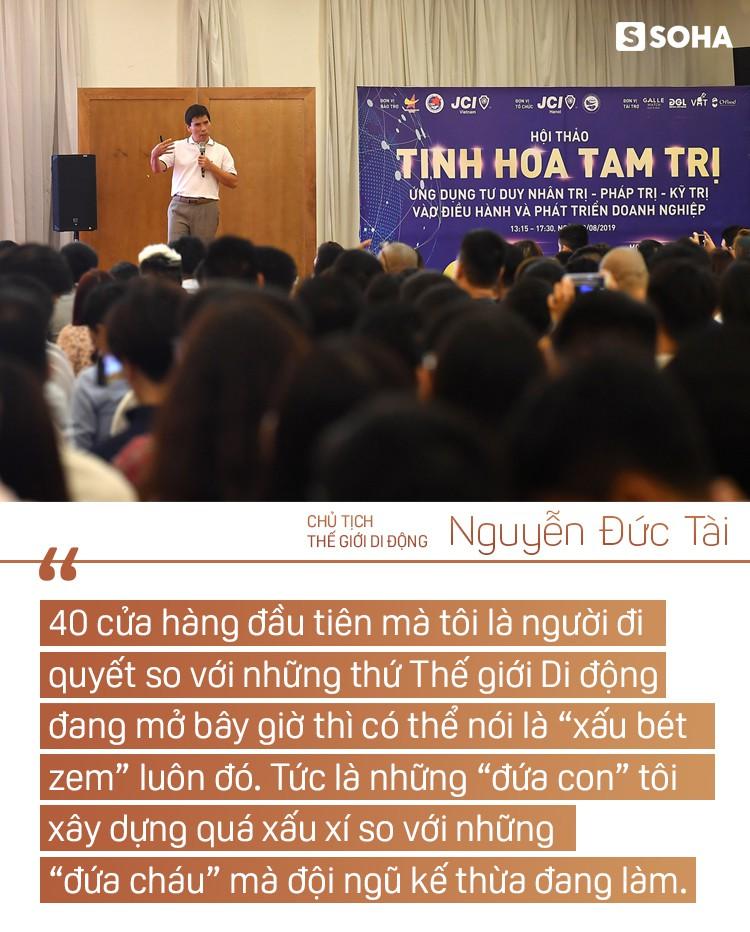 """Chủ tịch Thế giới Di động Nguyễn Đức Tài: """"Bây giờ ở công ty, tôi chỉ làm mấy việc bếp núc"""" - Ảnh 11."""