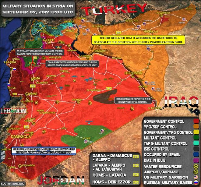 Mỹ, Israel liều lĩnh vượt lằn ranh đỏ tấn công Đông Syria - 2 máy bay UAV quân sự Israel bị bắn rơi liên tiếp - Ảnh 12.