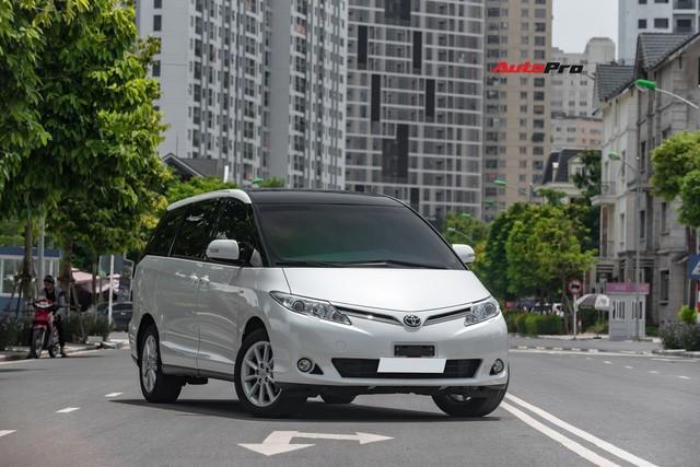 Cận cảnh Toyota Previa 2019 nhập khẩu Trung Đông giá gần 3 tỷ đồng đầu tiên tại Việt Nam - Ảnh 1.