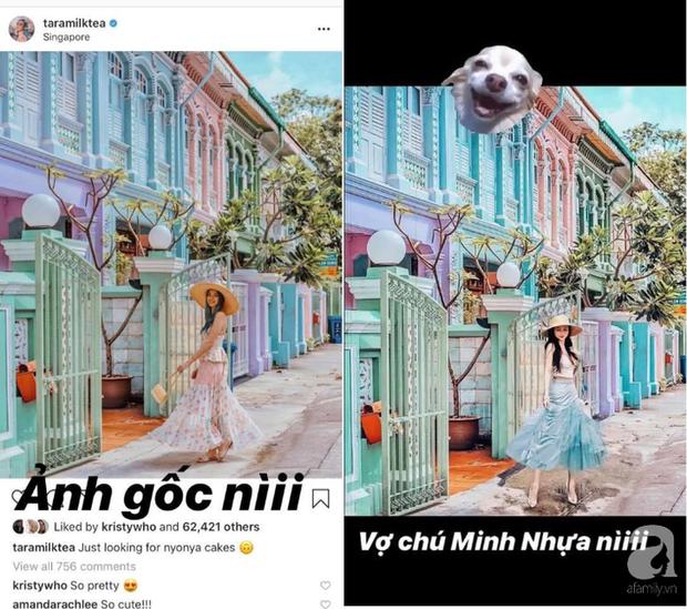 Nữ Blogger nổi tiếng của Úc đăng story dằn mặt vợ 2 Minh Nhựa vụ nghi dùng photoshop ghép ảnh sống ảo - Ảnh 2.